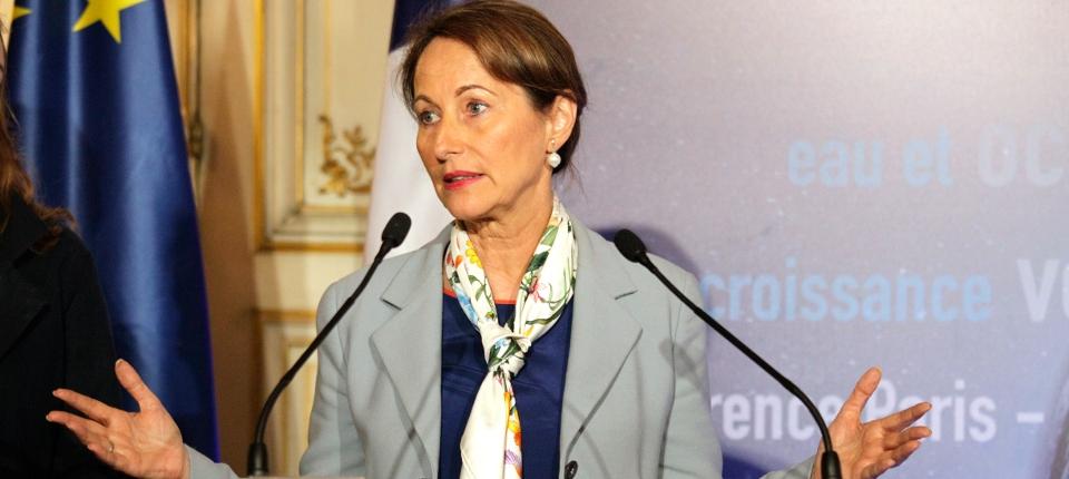 Photo de Ségolène Royal, ministre de l'Écologie, du Développement durable et de l'Énergie