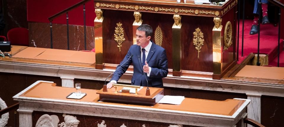 Le Premier ministre à l'Assemblée nationale