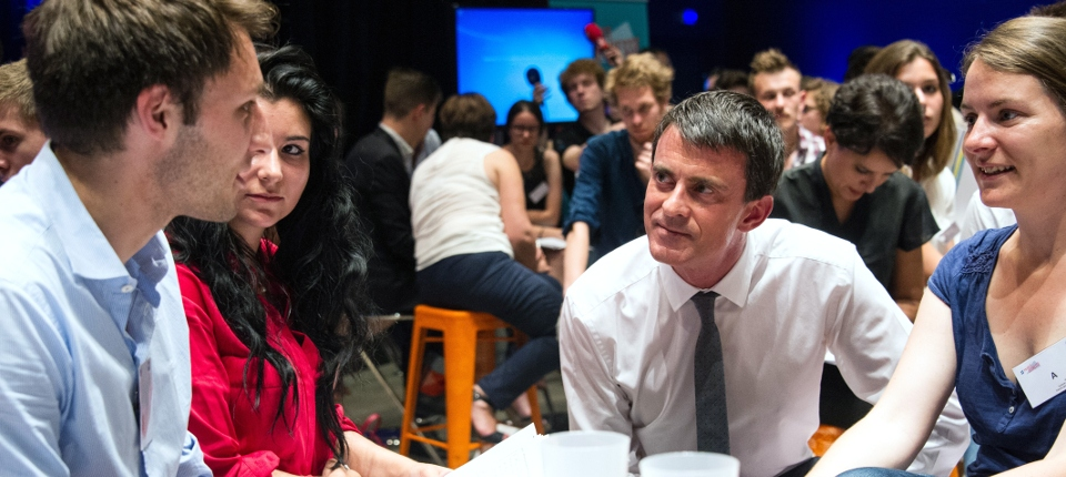 Manuel Valls lors du 3ème Comité interministériel de la jeunesse