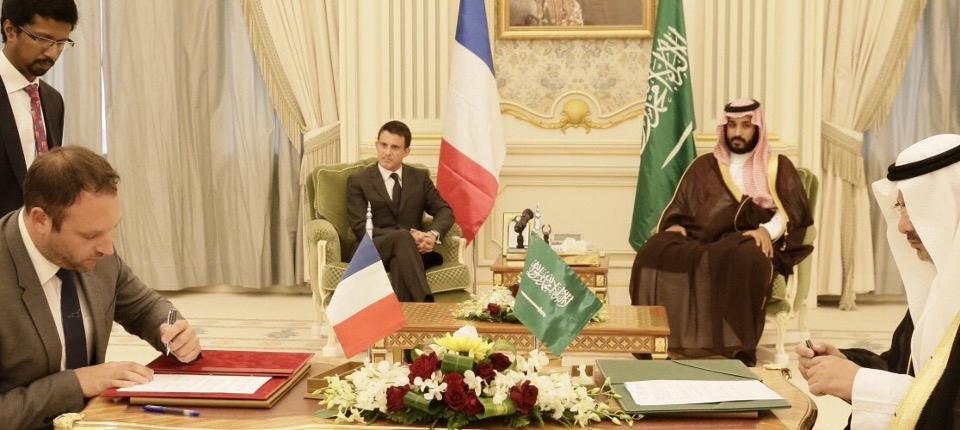 Siganture des contrats et lettres d'intention en Arabie Saoudite