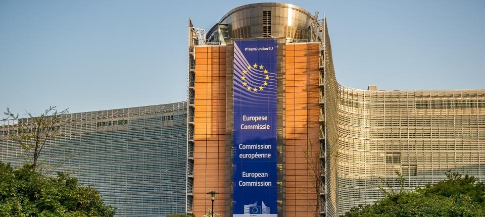 Photo de la commission européenne à Bruxelles