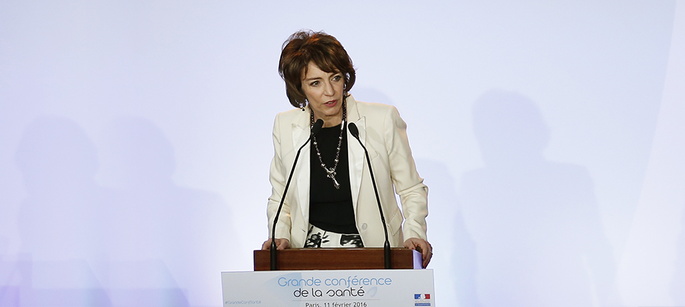Marisol Touraine à la Grande Conférence de la Santé