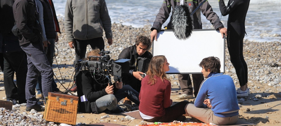 Tournage du film La vie devant elles pour France 3