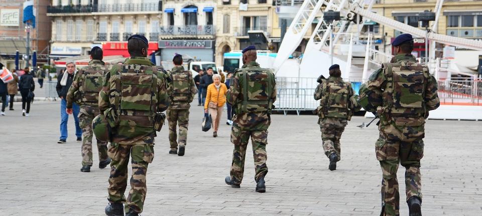 Des militaires à Marseille dans le cadre du plan vigipirate