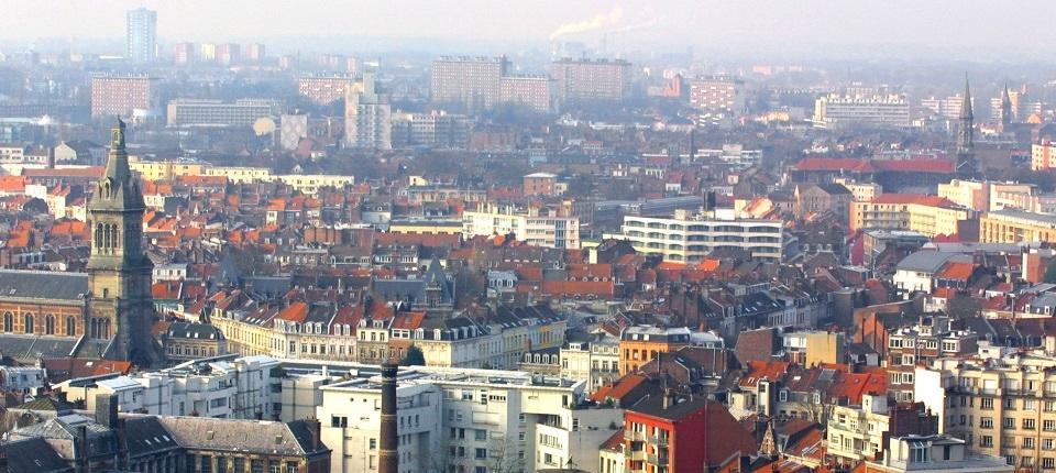 Vue générale de la ville de Lille