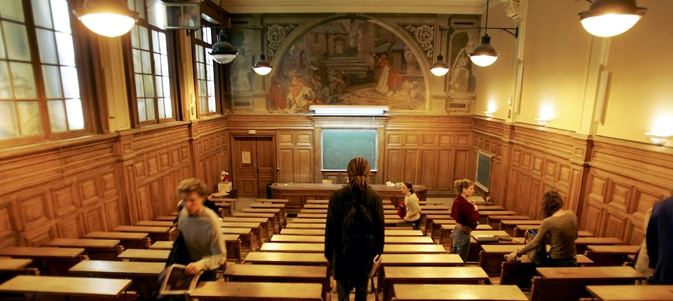 Amphithéâtre à La Sorbonne