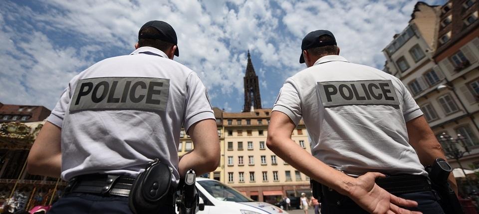 Des policiers nationaux à Strasbourg