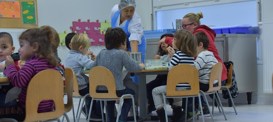 Une école maternelle à Valence