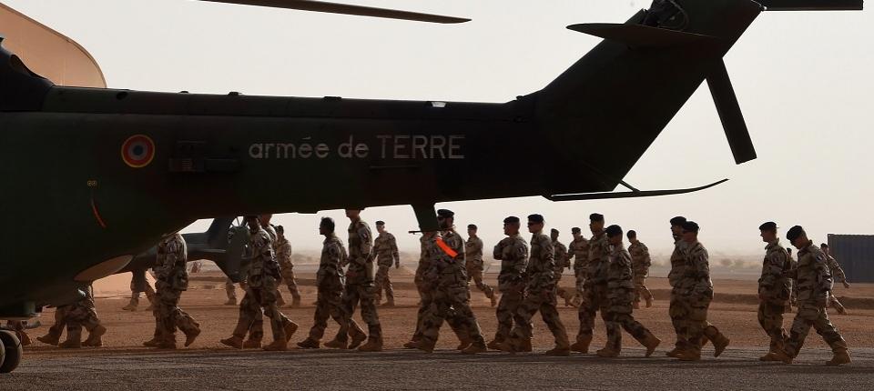 Des soldats de l'opération Barkhane