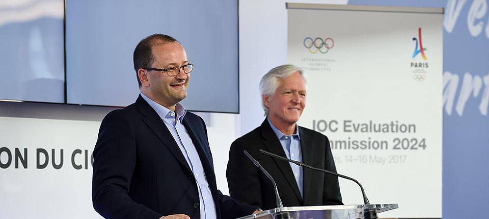 Patrick Baumann, président de la comission d'évaluation mandatée par le CIO