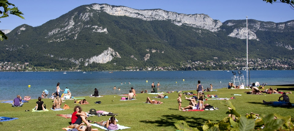 Plage Annecy