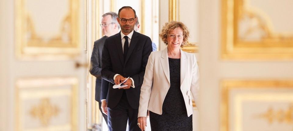 Edouard Philippe et Muriel Pénicaud