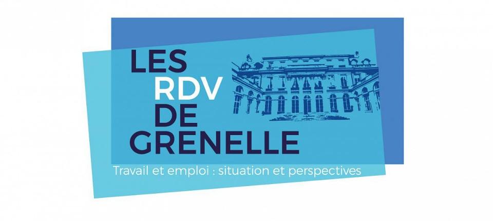 """Logo """"Les RDV de Grenelle"""""""