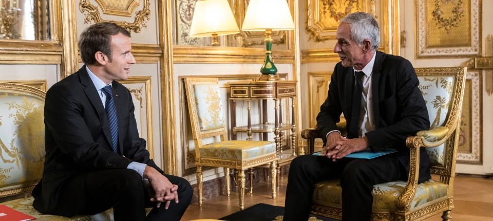 Concertation entre le Président de la République et les partenaires sociaux