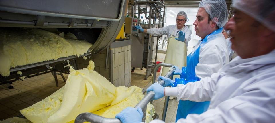 Manufacture de beurre d'Echiré