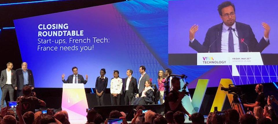 Discours de Mounir Mahjoubi lors de la VivaTech 2018