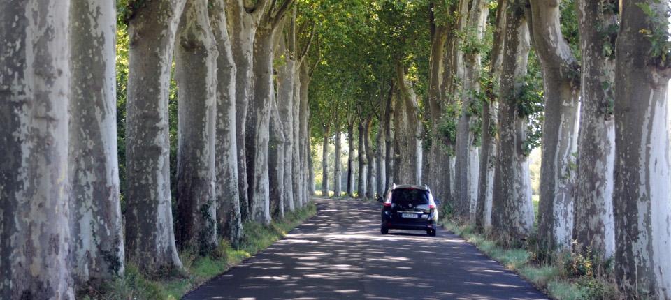 Route de France.