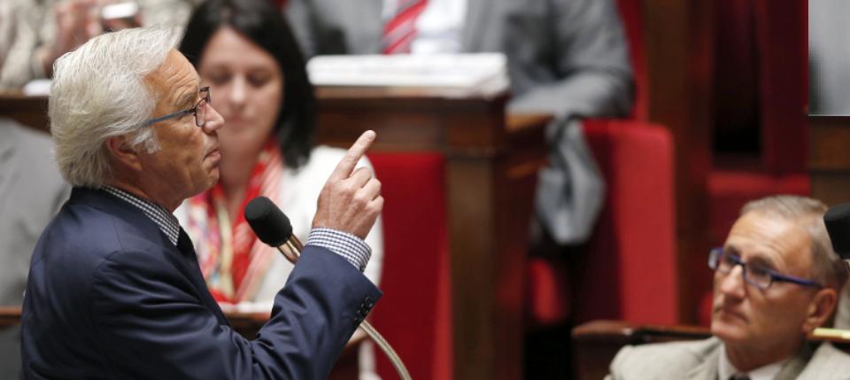 Photo de François Rebsamen à l'Assemblée nationale
