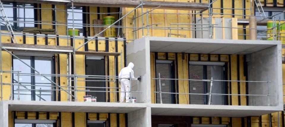 Photo d'un immeuble en rénovation