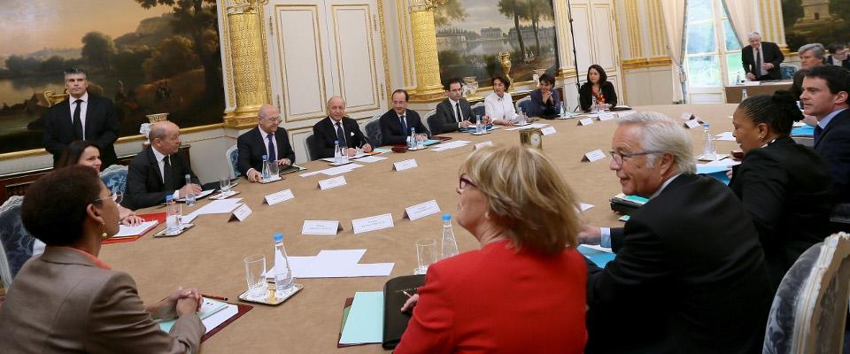 Conseil des ministres du 4 avril 2014