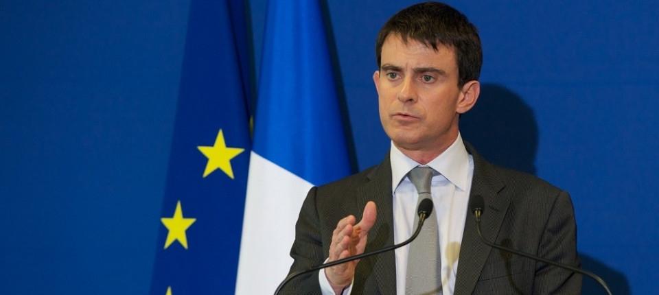 Intervention de Manuel Valls devant les salariés de Staübli à Faverges