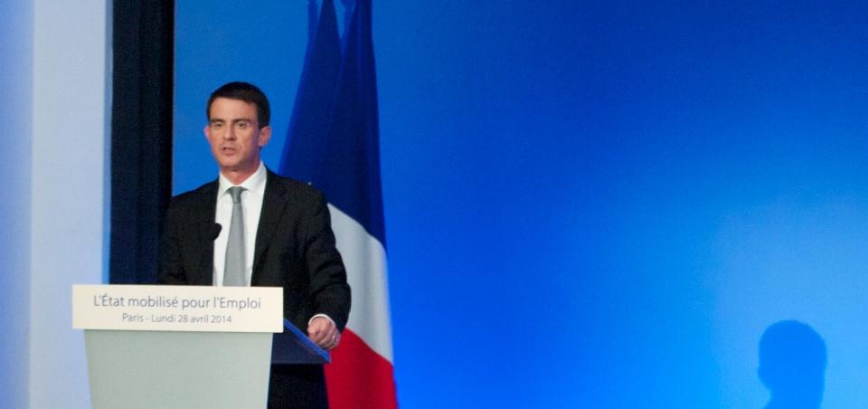Discours de Manuel Valls à la Maison de la Chimie