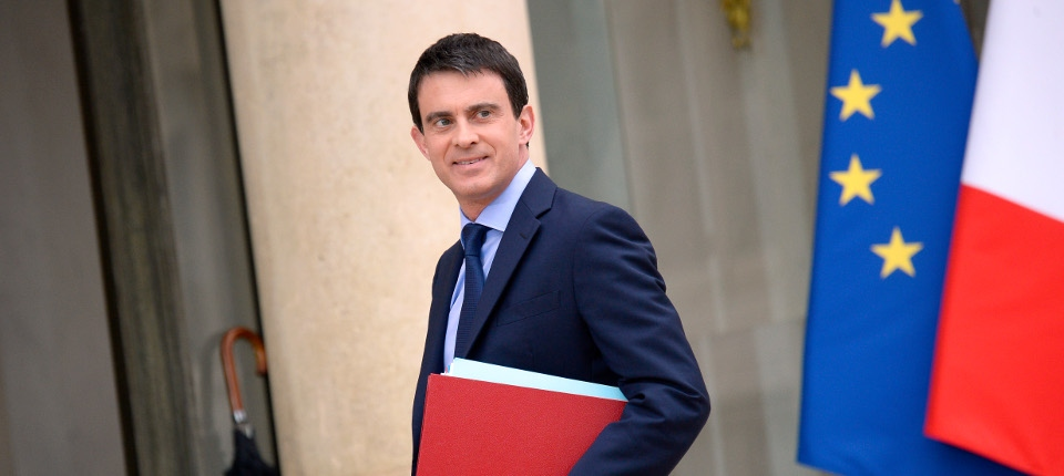 Photo de Manuel Valls à Matignon
