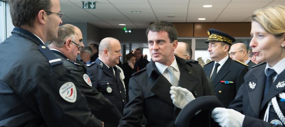 Manuel Valls à Beauvais le 19 novembre 2014