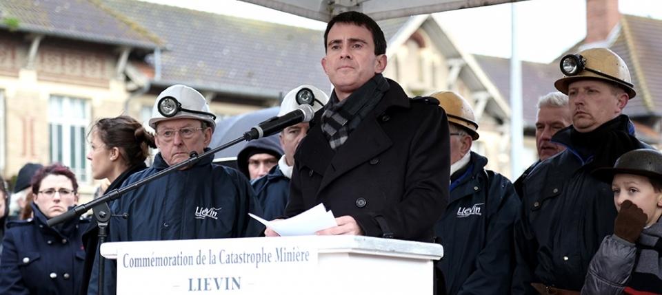 Manuel Valls à Liévin