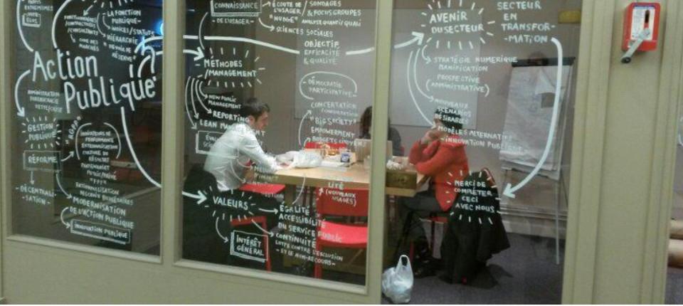 Photo : Innover avec les startups pour renforcer le service public