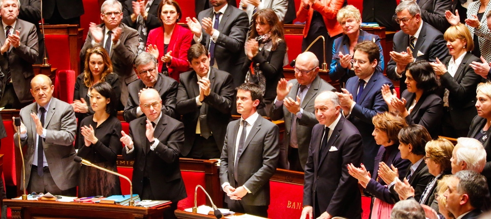Manuel Valls à l'assemblée nationale