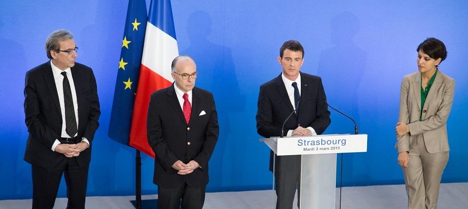Discours de Manuel Valls à Strasbourg