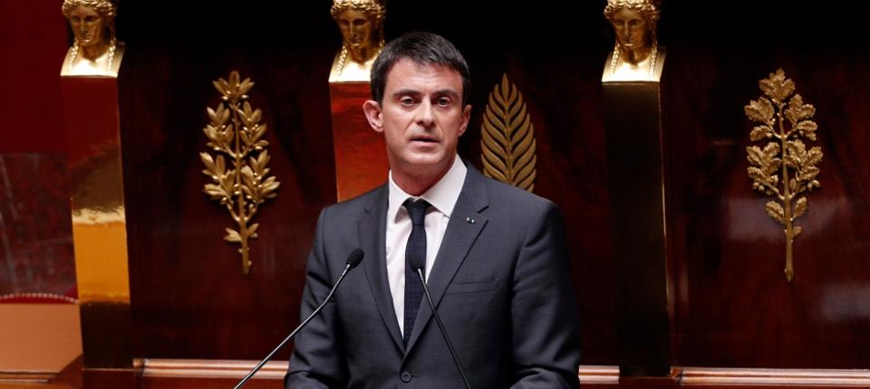 Manuel Valls présente le projet de loi relatif au renseignement à l'Assemblée nationale le 13 avril 2015