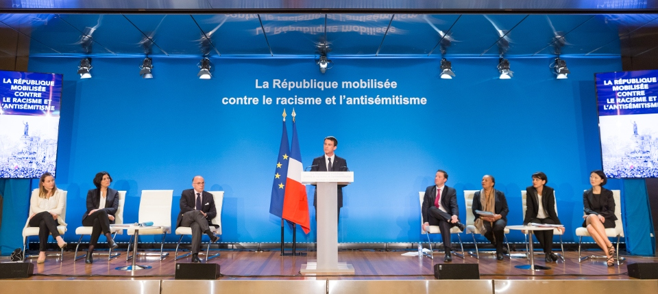 Manuel Valls pésente le plan de lutte contre le racisme et l'antisémitisme