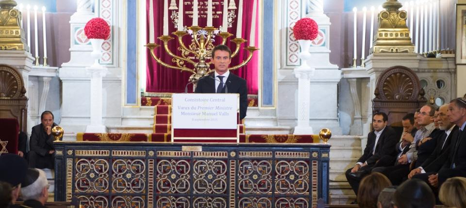 Discours du Premier ministre devant le consistoire