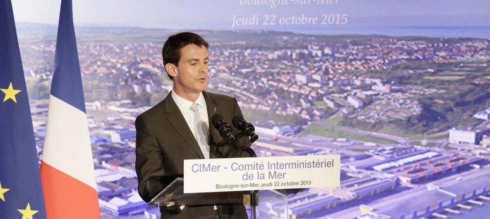 Discours de Manuel Valls lors du comité interministériel de la mer (CIMer), le 22 octobre 2015
