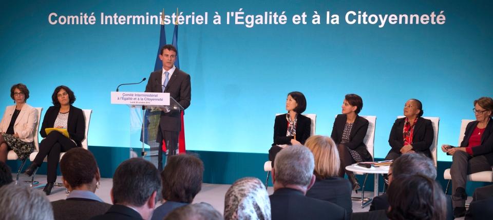 Discours de Manuel Valls lors du Comité interministériel à l'égalité et à la citoyenneté le 26 octobre 2015