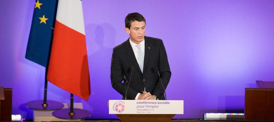 Discours de Manuel Valls lors de la 4e conférence sociale pour l'emploi