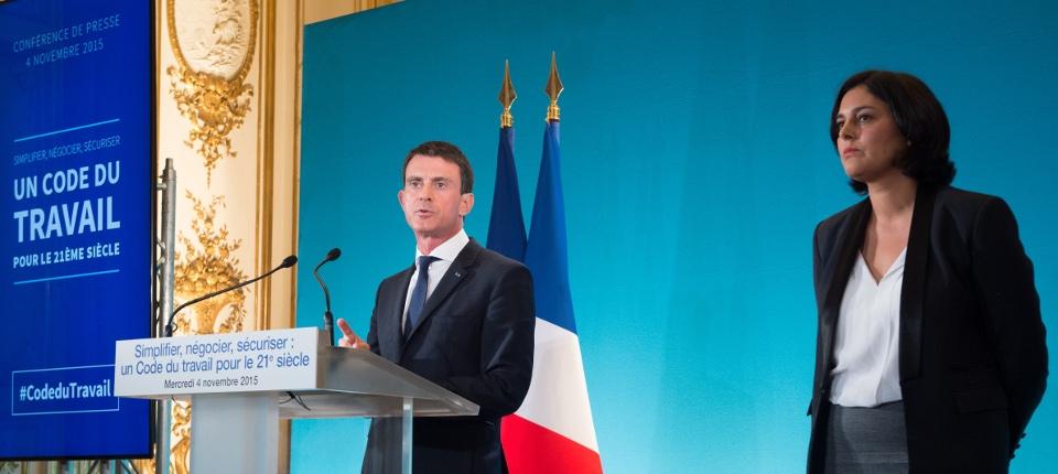 Manuel Valls et Myriam El Khomri