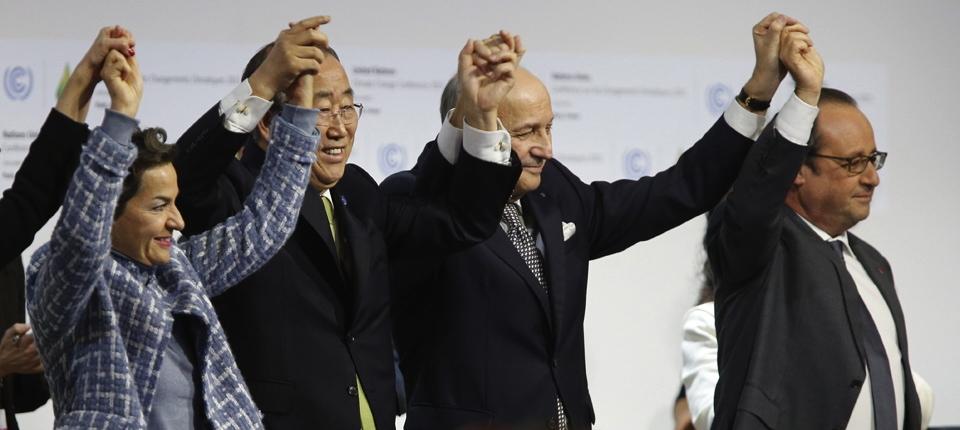 Les signataires de l'Accord de Paris sur le climat