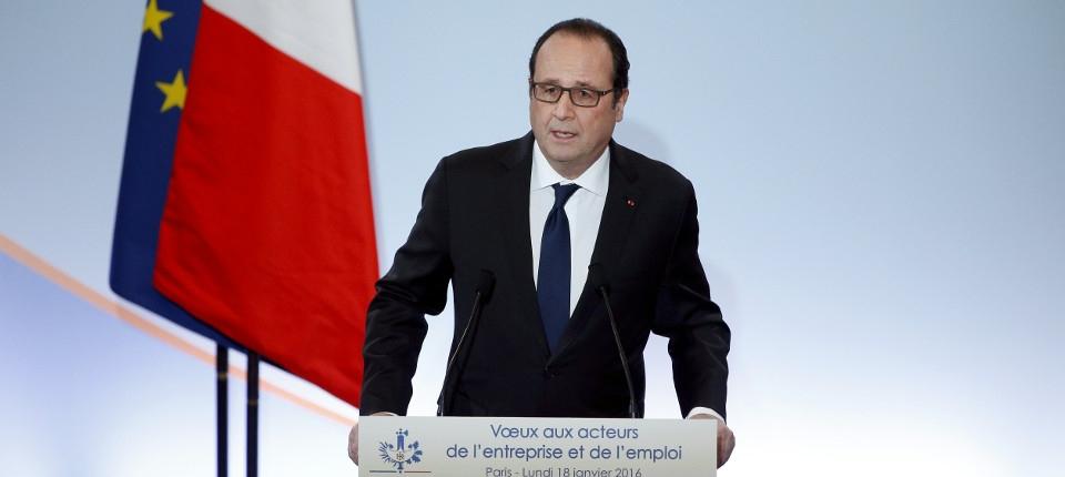 François Hollande au CESE
