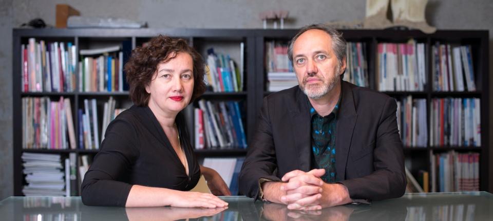 Anouk Legendre et Nicolas Desmazières