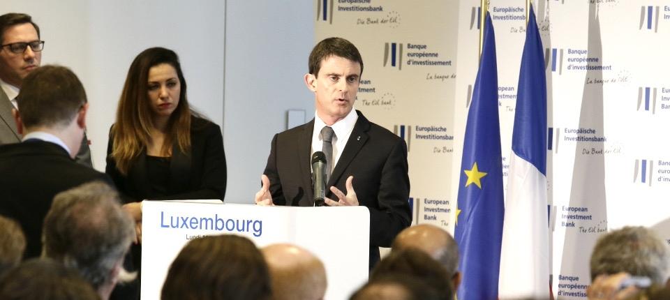 Discours de Manuel Valls à la Banque européenne d'investissement