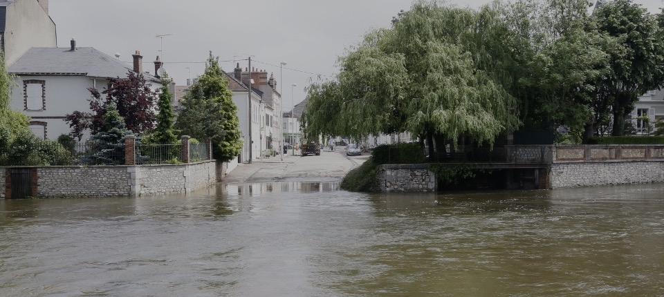 Innondations à Montargis