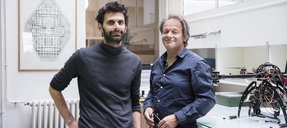 Yves Ubelmann et Philippe Barthelemy, co-fondateurs d'Iconem