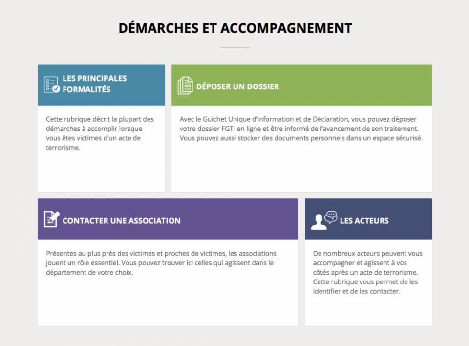 guide-victimes.gouv.fr, le Guichet unique d'information et de déclaration pour les victimes