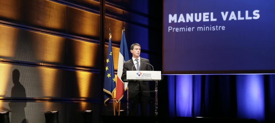 Manuel Valls au 12e Congrès des Régions de France