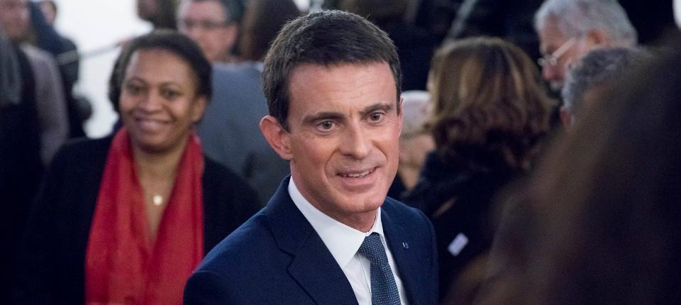 Manuel Valls aux rencontres organisées par la Dilcra