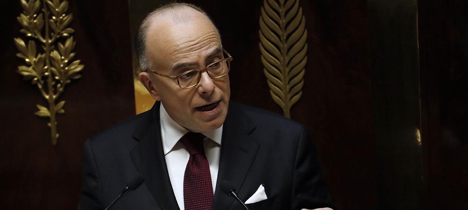 Bernard Cazeneuve à l'Assemblée nationale