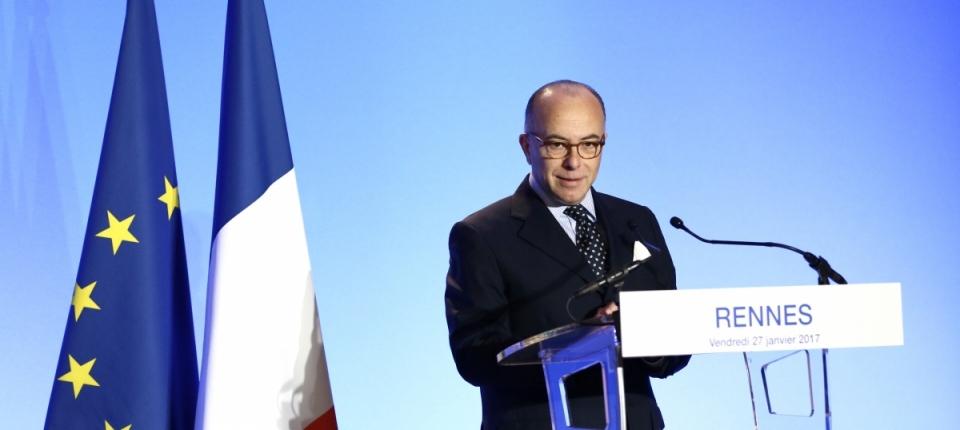 Le Premier ministre lors de son discours sur la politique du logement, à Rennes